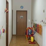 Korytarz ośrodka rehabilitacyjnego INTERGA