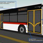Oznakowanie autobusu