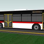 Prawidłowe oznakowanie autobusu