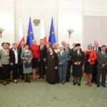 Krystyna Pacholik w Pałacu Prezydenckim