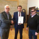Wizyta przedstawicieli Zarzadu naszego Okręgu u Prezydenta Miasta Opola