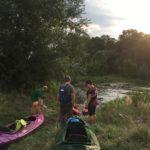 Spływ kajakowy Członków Koła PZN Kędzierzyn-Koźle