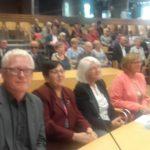 Członkowie Koła PZN Opole Powiat na obchodach 15-lecia Fundacji Szansa Dla Niewidomych